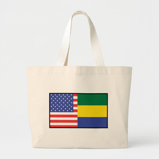 America Gabon Large Tote Bag