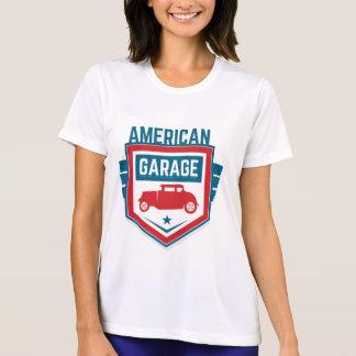 America Garage. Vintage Americana. T-Shirt