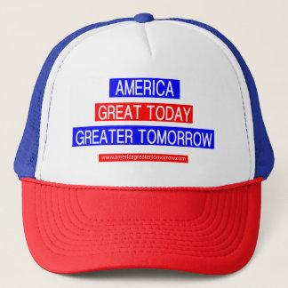AMERICA GREATER TOMORROW Hat