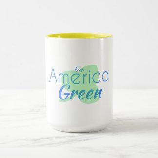 America green mug