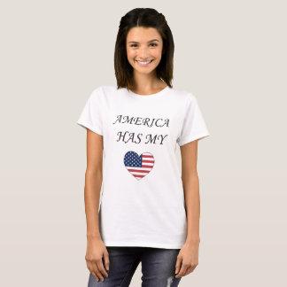 America Has My Heart T-Shirt
