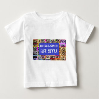 America Inspired Life Style Slogan Quote Wisdom Baby T-Shirt