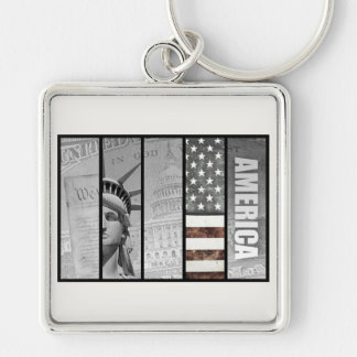 America Is Exceptional Keychain