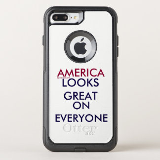AMERICA LOOKS GREAT ON EVERYONE OtterBox COMMUTER iPhone 7 PLUS CASE