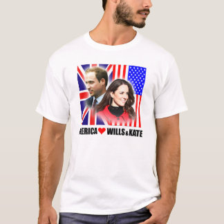 America Loves Prince William & Kate Shirt