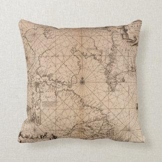 America Map - Throw Pillow