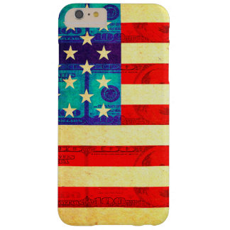 America money flag barely there iPhone 6 plus case