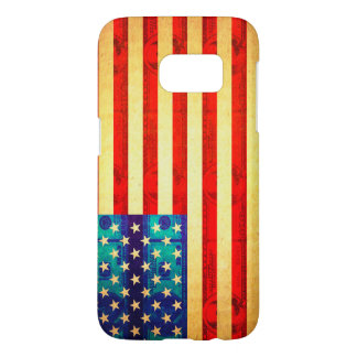 America money flag samsung galaxy s7 case