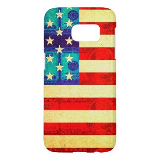 America money flag samsung galaxy s7 case