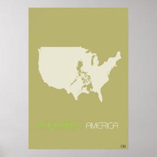 America multicultural poster