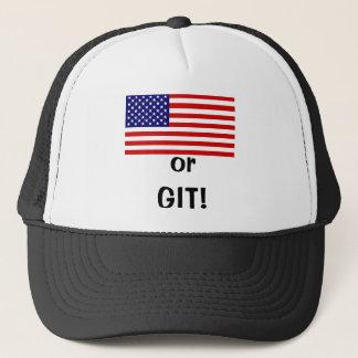 America or GIT! Trucker Hat