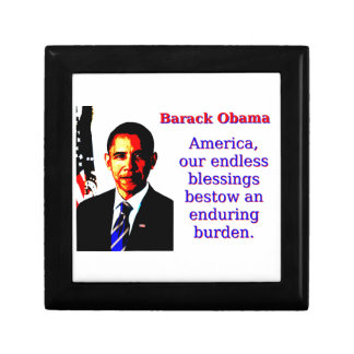 America Our Endless Blessings - Barack Obama Gift Box