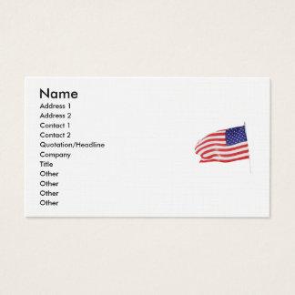 America Patriotic 862 Business Card