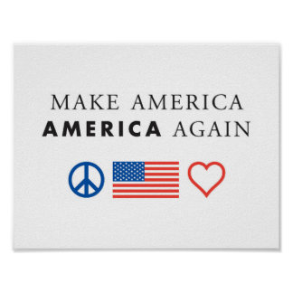 America patriotic poster