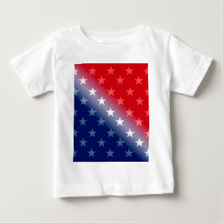 america patriotic red white blue baby T-Shirt