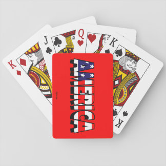 America! PLAYING CARDS