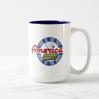 America: Powered by Liberty - Coffee Mug