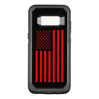 America Red OtterBox Commuter Samsung Galaxy S8 Case