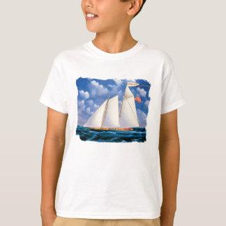 America (schooner yacht) by James Bard T-Shirt