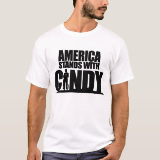 America Stands with Cindy T-Shirt