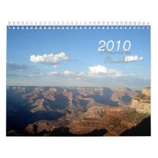 America the Beautiful 2010 Calendar
