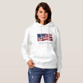 America the Beautiful hoody sweatshirt