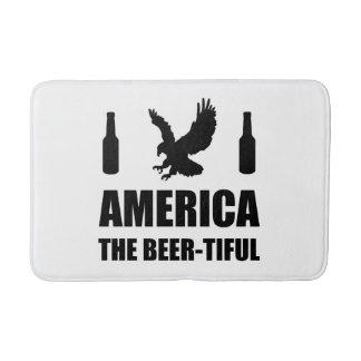 America The Beertiful Bath Mat