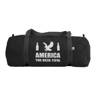 America The Beertiful Gym Bag