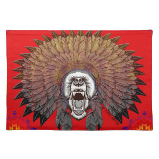 America to bear phase bears placemat