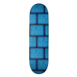 America Typographic Blueprint Skate Board