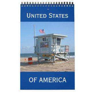 america united calendars