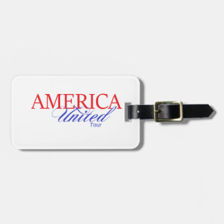 America United Gear Luggage Tag