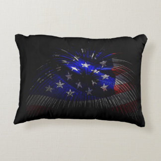 America US Flag Decorative Pillow