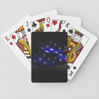 America US Flag Playing Cards