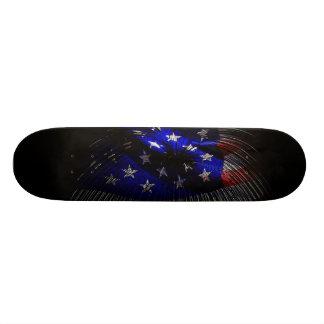 America US Flag Skate Board
