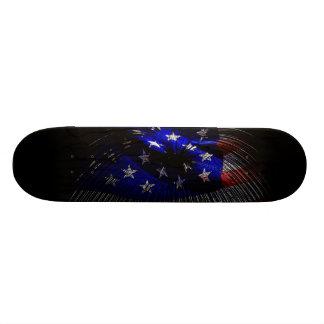 America US Flag Skate Board Decks