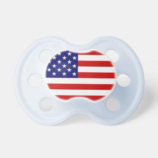 America, USA flag Baby Pacifier
