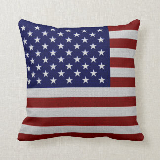 America (USA) Flag Vintage Decor-Soft Pillows