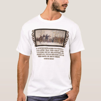 America was Founded on the Gospel of Jesus Christ T-Shirt