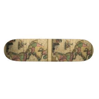 Americam utramque - North & South America Map Skateboard Decks