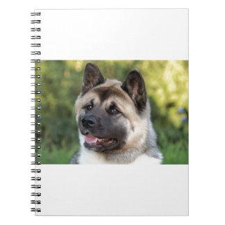 American Akita Dog Notebooks