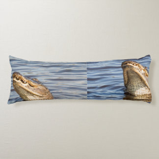 American alligator body pillow