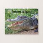 American Alligator Jigsaw Puzzle