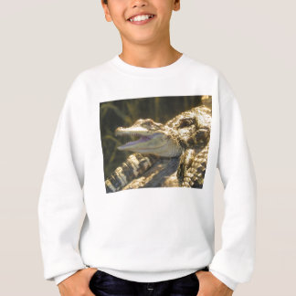 American Alligator Mouth Open Sweatshirt