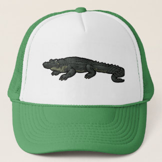 American Alligator Trucker Hat