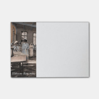 American Ambulance Hospital  WWI Post-it Notes