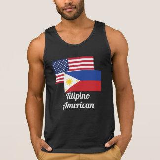 American And Filipino Flag