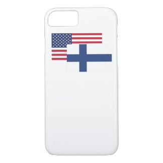 American And Finnish Flag iPhone 7 Case