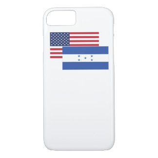 American And Honduran Flag iPhone 7 Case