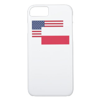 American And Polish Flag iPhone 7 Case